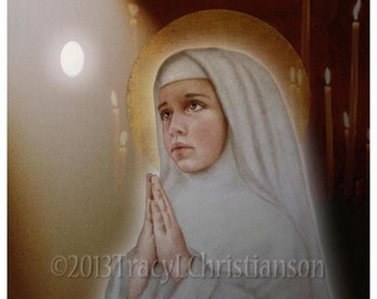 Bl. Imelda Lambertini Art Print/Picture, Catholic Patron Saint of First Communicants