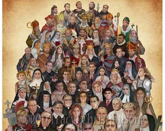 All Saints Art Print/Picture