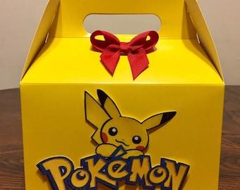 Yellow Pet Birthday Favor Box