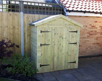 4ft 6in height Small pretty garden shed Apex, Height 4'6 to top of Apex