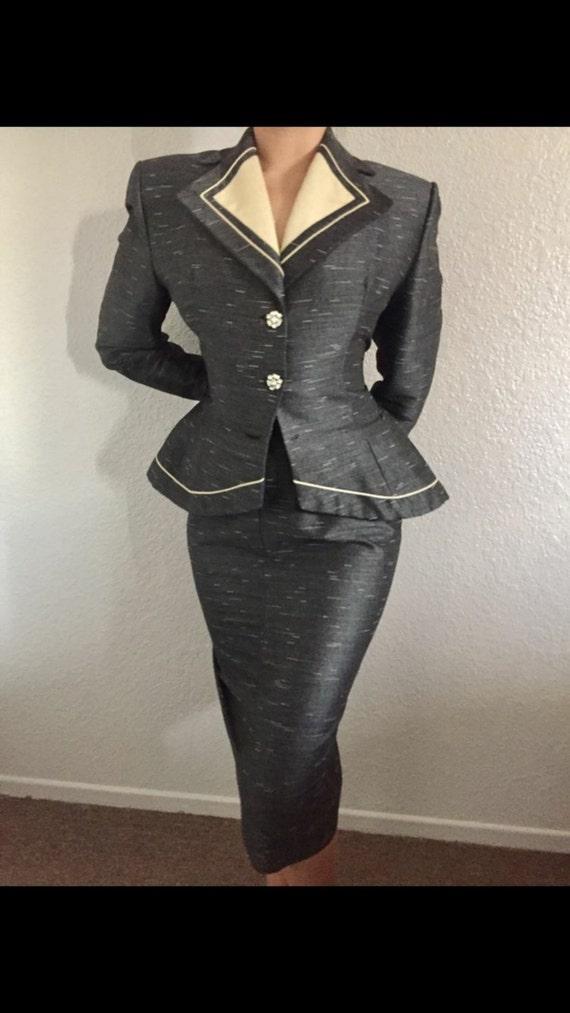 1950's origInal vintage dress Lilli Ann - image 2