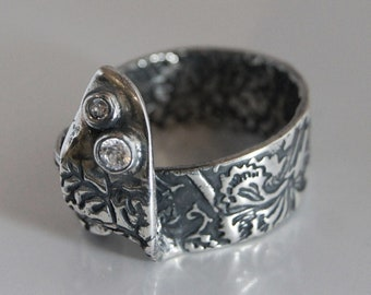 Ring Silver Twigs R149