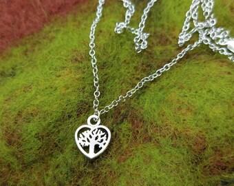 Dainty Heart - Tree Of Life - Minimalist - Woodland - Mori Girl