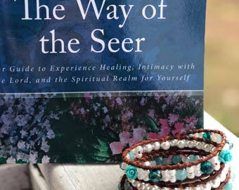 FREE!  Leather Wrap Bracelet with Purchase of The Way of The Seer