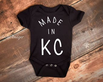 Kansas city baby etsy baby outfit baby gift baby bodysuit kc negle Image collections