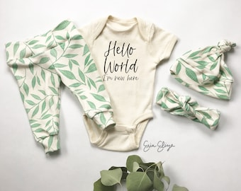 Coming home outfit gender neutral, Baby gender neutral coming home outfit, baby gift gender neutral, Gender neutral outfit baby