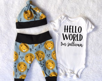 Lion baby clothes etsy negle Choice Image
