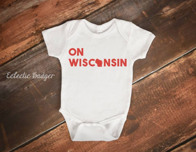 48d8e71f3f Wisconsin baby clothes Wisconsin badgers baby Wisconsin