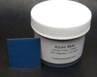 Azure Blue Powder Paint