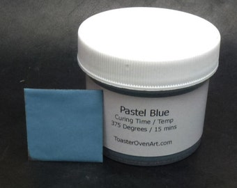 Pastel Blue Powder Paint