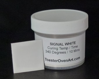 Signal White Powder Coating