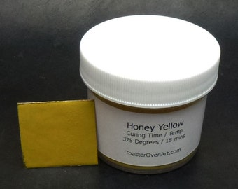 Honey Yellow Powder Paint
