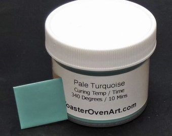 Pale Turquoise Powder Paint