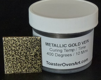 Metallic Gold Vein Powder Coating
