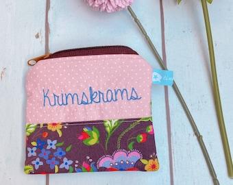 """Bag """"Krimskrams"""" cultural bag purse"""