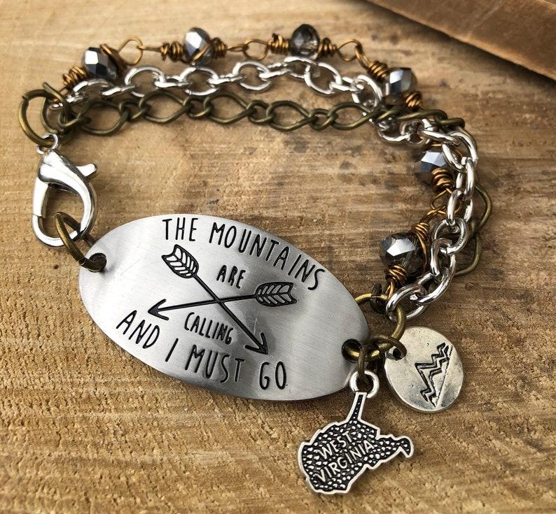 Mountains WV bracelet