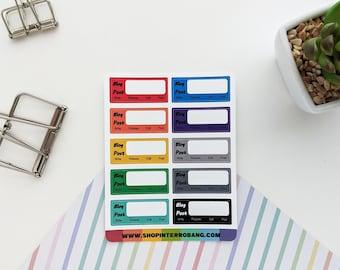 Blog Post | Planner Stickers | Journaling Stickers