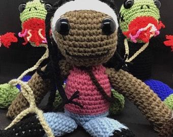 Walking Dead Michonne and her Walkers