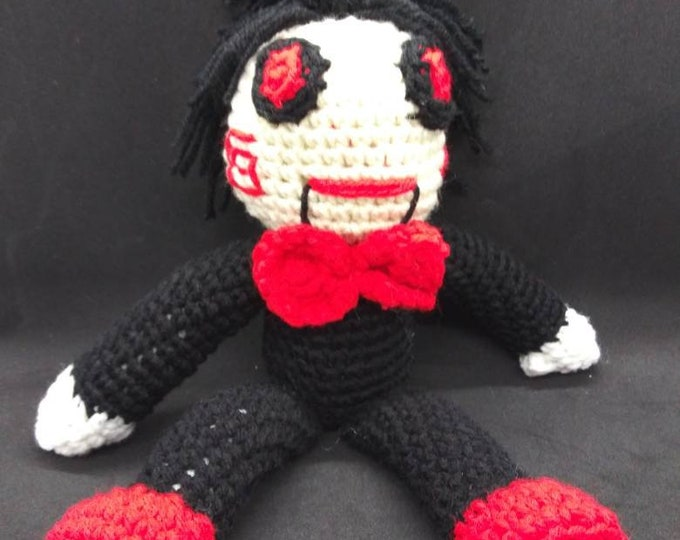 Crochet doll from Saw