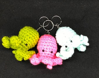 Squeaky Cthulhu Keychain