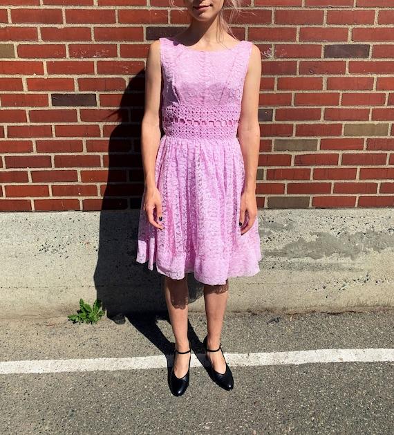 1960's bubblegum dress