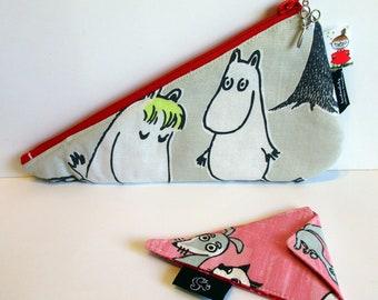 Scissor Cozy Set, Moomins, Organizer, Travel, Sweden, embroidery, sewing, handmade