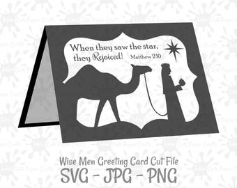 nativity card svg manger svg christmas card template etsy