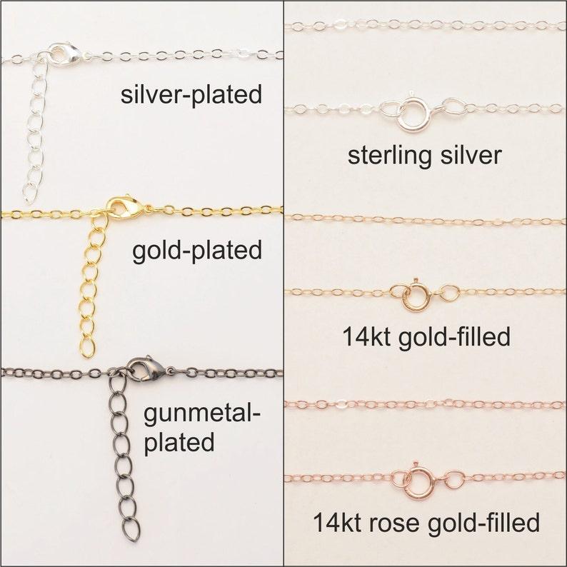 Monogram Jewelry Acrylic Necklace Monogram Necklace Extra Small Monogram Necklace 1.25 Inch Initial Necklace Turquoise Necklace