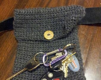 Crochet Belt Pouch