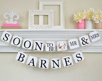 engagement banner soon to be banner engagement party decor engagement party ideas bridal shower decor coral bridal shower decorations