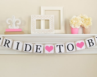 bride to be banner pink bridal shower bridal shower decorations bridal shower banners pink bachelorette party 10557