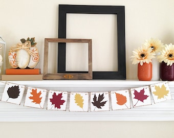 Fall Decor, Thanksgiving Decor, Fall Bunting, Thanksgiving Decoration, Fall Banner, Fall Sign