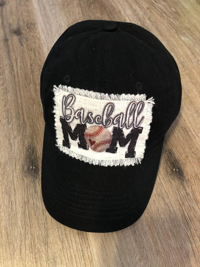 ee39f0674 Baseball Mom Hat, Raggy Patch Baseball Hat, Baseball Mama Hat, Baseball  Hat, Baseball Cap, Baseball Mom Cap, Baseball Mom, Baseball Mama