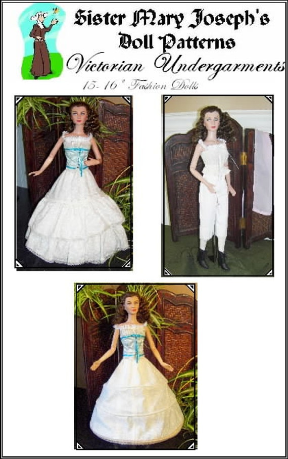 Plus Size Evening Wear Doll Clothes Sewing Pattern Emme,Tonner