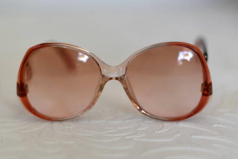 84aa9a1d149d41 Vintage Zyloware bril Oranje Frame glazen Vintage