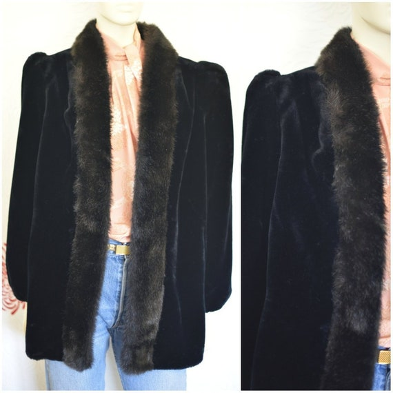 Jordache Faux Fur Coat | Mink Coat | Fake Fur | Fu