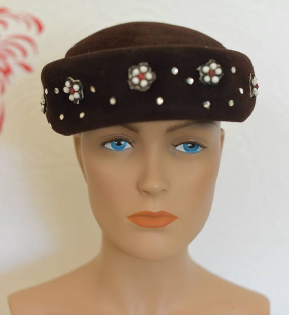 Vintage 50s Hat  9b267b2d90f