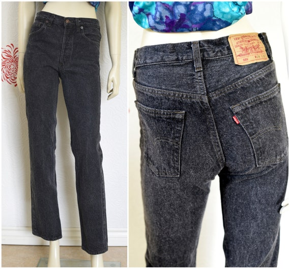 Vintage Levis 501s | Levis 501 XX | Black Jeans |