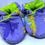 Tinkerbell Baby Booties (fits most 0 - 18 months)