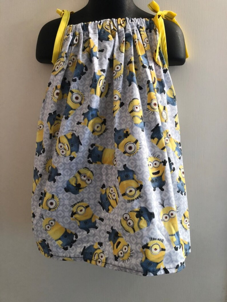 Minions Despicable Me Dress Multiple Sizes Available image 0