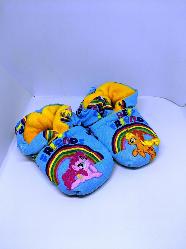 My Little Pony Baby Booties fits most 0  18 months image 0