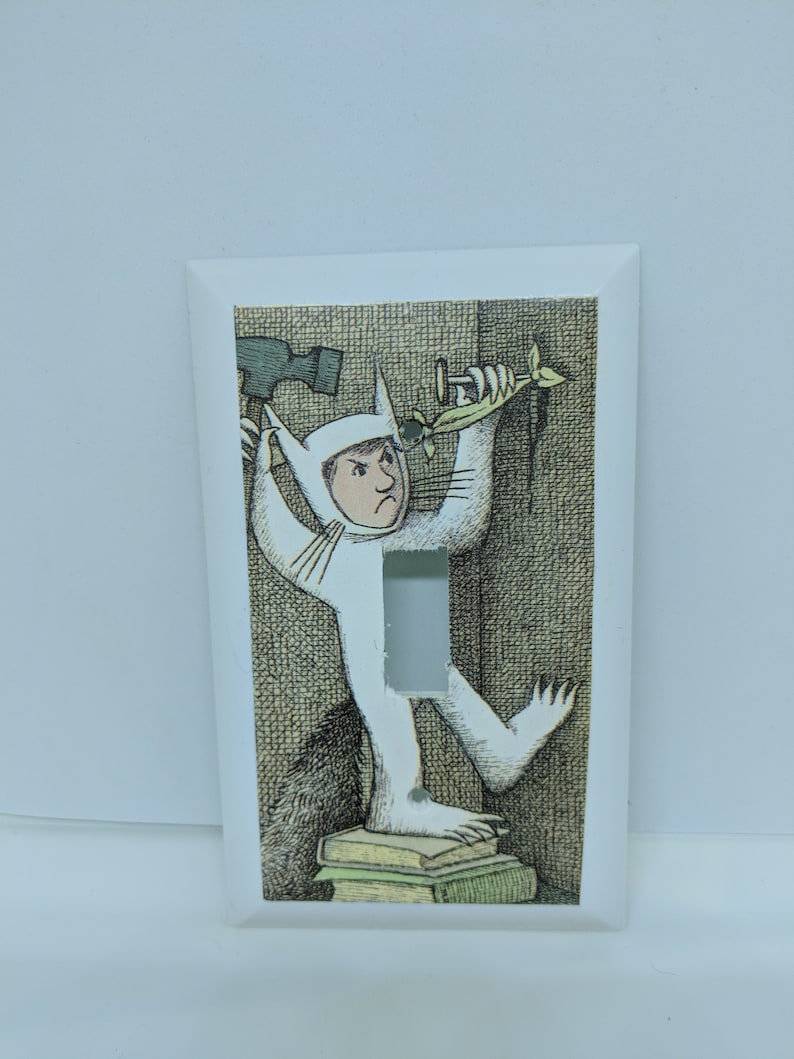 Where the Wild Things Are  Max Light Switch Cover image 0