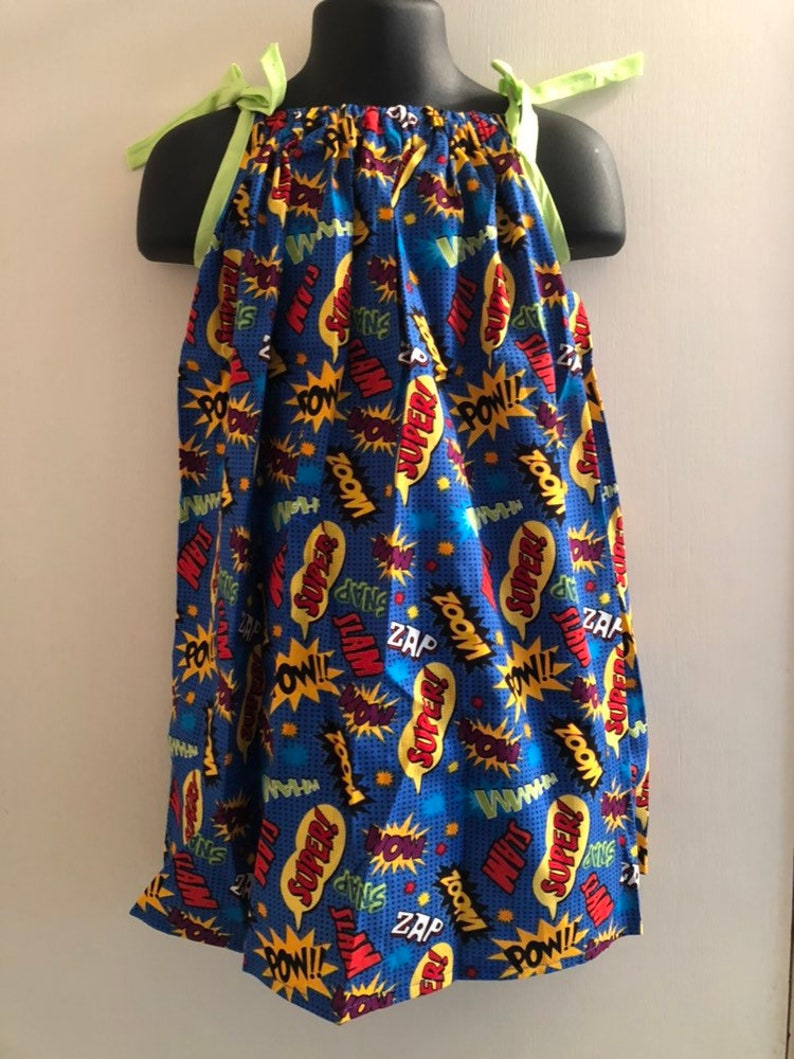 Comic Book Words Sundress multiple sizes available image 0