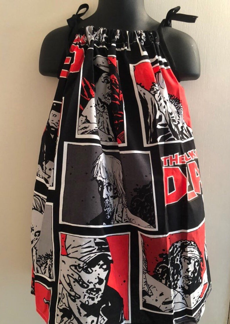 The Walking Dead Comic Character Sundress Multiple Sizes image 0