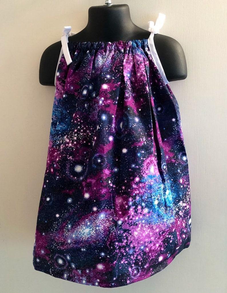 Purple Galaxy Sundress Multiple Sizes Available image 0