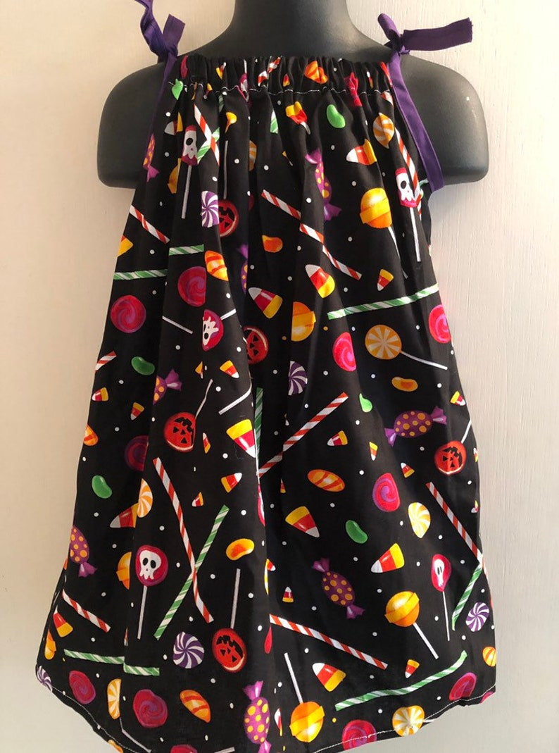 Halloween Candy Dress Multiple Sizes Available image 0