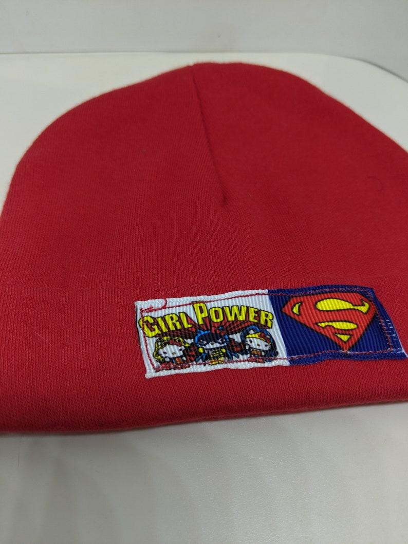 Wonder Woman Supergirl Infant Hat image 0
