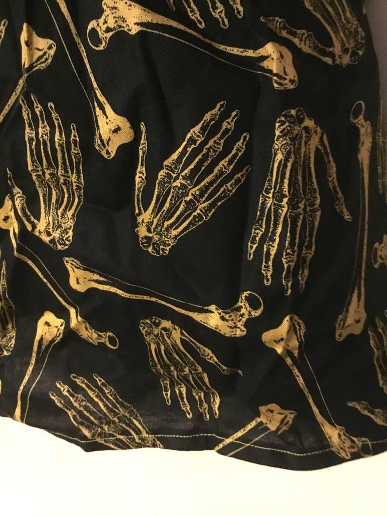 SkeletonBone Dress Multiple Sizes Available