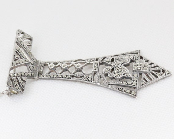 Art Deco Sterling Silver Australian Brooch By Lega