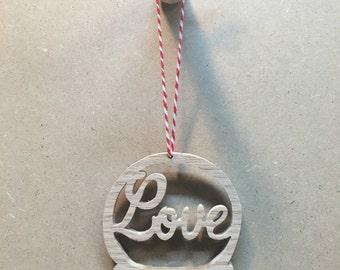 Christmas Ornament - Love